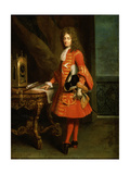 Portrait of a Knight of the Order of Malta, C1690-1750 Giclee Print by Robert Tournieres