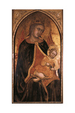Madonna and Child, Late 14th-Early 15th Century Giclée-tryk af Taddeo di Bartolo
