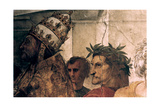 The Disputation on the Holy Sacrament (Detail), 1508-1509 Giclee Print by  Raphael