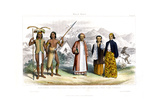 Malay Race, 1800-1900 Giclee Print by R Anderson