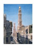 Souk Al Nahhassin, Cario, 1866 Giclee Print by Richard Phene Spiers