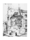 The Chapel in the Old Town Hall, Prague, Czech Republic, 19th Century Giclee Print by Richard Norman Shaw