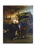St Michael the Archangel, C1503-1504 Giclee Print by  Raphael