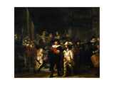 The Night Watch, 1642 Giclée-tryk af  Rembrandt van Rijn