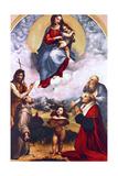 Madonna Di Foligno, C1511-1512 Impression giclée par  Raphael