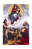 Madonna Di Foligno, C1511-1512 Giclee Print by  Raphael