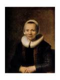 Portrait of Baertje Martens, 1649 Giclee Print by  Rembrandt van Rijn