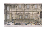 St Paul's Cathedral, London, 1706 Giclee Print by Robert Trevitt