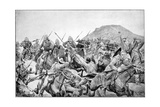Charge of the 5th Lancers at Elandslaagte, 2nd Boer War, 21 November 1899 Giclee Print by Richard Caton Woodville II