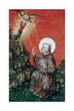 St Francis Receiving the Stigmata, C1430-1451 Giclee Print by Stephan Lochner