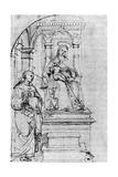Nicolas De Tolentino, 1913 Reproduction procédé giclée par  Raphael