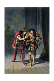 Scene from Shakespeare's Richard Iii, C1858 Giclee Print by Robert Dudley