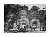 Temple of Confucius, Peking, China, 19th Century Giclee Print by  Therond
