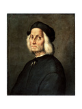 Portrait of an Old Man, 16th Century Giclee Print by Ridolfo Ghirlandaio