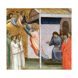 Scene from the Life of St John, C1320-1366 Giclee Print by Taddeo Gaddi