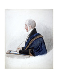 Samuel Wilson, Lord Mayor 1838, 19th Century Giclee Print by Richard Dighton