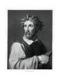 Torquato Tasso, Italian Poet Giclee Print by Robert Hart