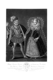 Mary Stuart, Queen of France and Scotland, and Henry Lord Darnley, Her Husband Giclee Print by Robert Dunkarton