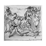 Study for the Entombment, 1913 Giclee Print by  Raphael
