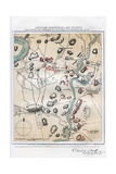 Map of Antietam, Sharpsburg and Vicinity, Maryland, 1862 (1862-186) Giclee Print by Rae Smith