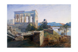 Philae, Egypt, 19th Century Giclee Print by Robert Dighton