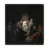 The Incredulity of Saint Thomas, 1634 Giclee Print by  Rembrandt van Rijn