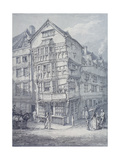 Chancery Lane, London, 1814 Giclee Print by Thomas Hearne