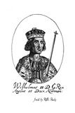 King William II Giclee Print by Robert Peake