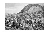 British Artillery Going to the Attack on Spion Kop, 2nd Boer War, 24 January 1900 Giclee Print by Richard Caton Woodville II
