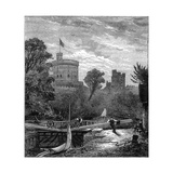 Old Windsor Lock, 1880 Giclee Print by Robert Taylor Pritchett
