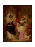 The Rivals, C1827 Giclee Print by Robert Smirke