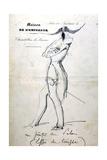 Study, La Maison De L'Empereur, C1823-1870 Giclee Print by Prosper Merimee