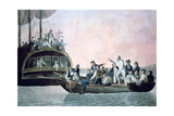 The Mutineers Turning Lieut Bligh...And Crew Adrift from His Majesty's Ship the Bounty, 1790 Giclee Print by Robert Dodd