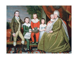 Mrs Noah Smith and Her Children, 1798 Giclee Print by Ralph Earl