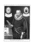 Sir Robert Naunton, English Politician and Writer Giclee Print by Robert Cooper