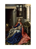 Madonna and Child before a Fireplace, 1430S Giclee Print by Robert Campin