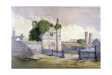 View of Beckingham Hall Near Withham, Essex, 1869 Giclee Print by R Nightingale