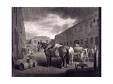 East End of Whitbread's Brewery, Chiswell Street, Islington, London, C1792 Giclee Print by Richard Earlom