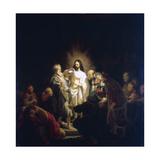 Doubting Thomas, 1634 Wydruk giclee autor Rembrandt van Rijn