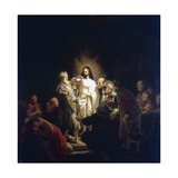 Doubting Thomas, 1634 Giclee Print by  Rembrandt van Rijn
