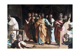 The Death of Ananias, 1515 Giclee Print by  Raphael