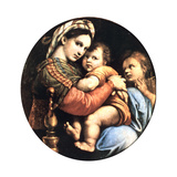 Madonna Della Seggiola, 1514 Reproduction procédé giclée par  Raphael