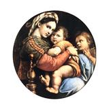 Madonna Della Seggiola, 1514 Impression giclée par  Raphael
