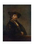 Self Portrait at the Age of 34, 1640 Giclee Print by  Rembrandt van Rijn
