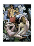 The Bathers, 1912 Giclee Print by Roger de La Fresnaye