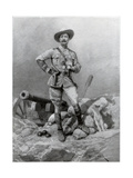 Major General Robert Baden Powell, 1900 Giclee Print by Richard Caton Woodville II