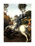 Saint George and the Dragon, C1506 Reproduction procédé giclée par  Raphael