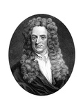 Isaac Newton, English Mathematician, Astronomer and Physicist Giclee Print by R Page