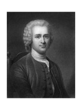 Jean-Jacques Rousseau, 18th Century French Political Philosopher Giclee Print by Robert Hart