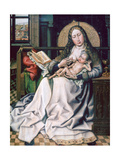 The Virgin and Child before a Firescreen, 1440 Giclee Print by Robert Campin